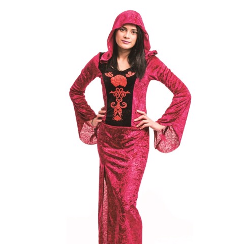 COSTUME ROSE VAMPRESS LADIES
