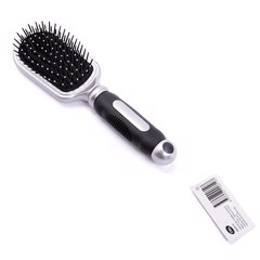 Hair Brush Chrome 6Asst