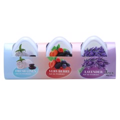 Gel Air Freshener Mini 3Pk 60G