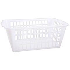 White-Utility-Shelf-Basket-Sml
