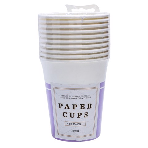 Party-Cups-250Ml-Purple-10Pk