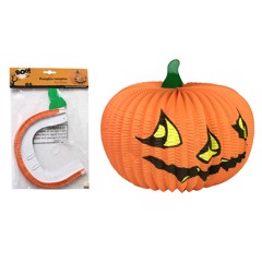 Đèn bí ngô 36 cm  Halloween Uncle Bills UH00702