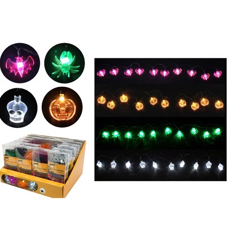 STRING 10 LED LIGHTS ASSORTED
