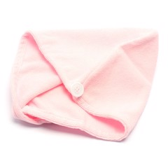 Hair Towel Wrap Microfibre 2Asst