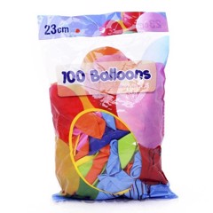 Balloons-Mixed-Col.-100Pk