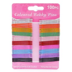 Bobby Pins Col. 45Mm 100Pk