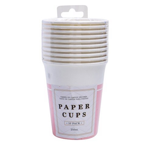 Party-Cups-250Ml-Pink-10Pk