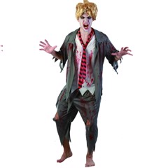 COSTUME BLOODY SCHOOL BOY MENS