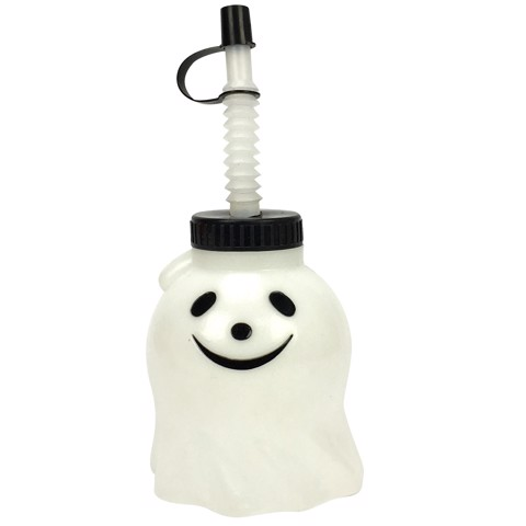 Ly hình ma có ống hút 300ml Halloween Uncle Bills UH00130