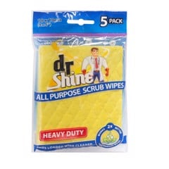 Scrub Wipes For Bathroom 5Pk