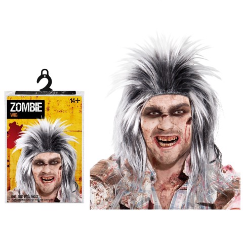 MESSY ZOMBIE WIG MENS