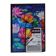 Artist Canvas Pad A5 10Sheets