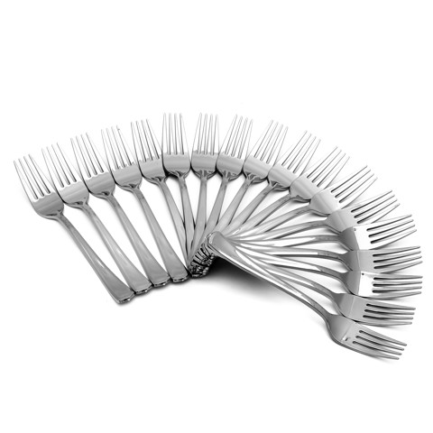 Disposable-Silver-Look-Forks-18Pk