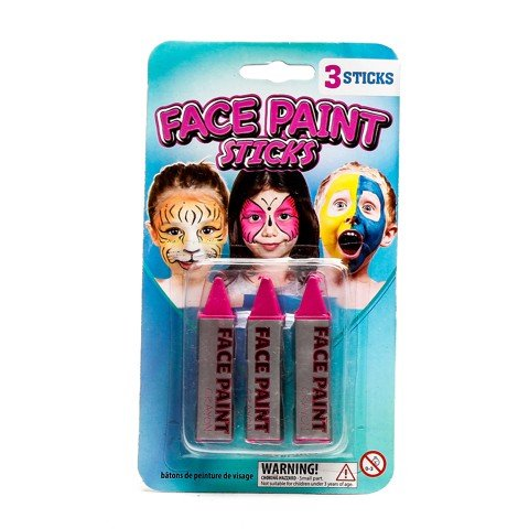 Party-Face-Paint-Sticks-3Pk
