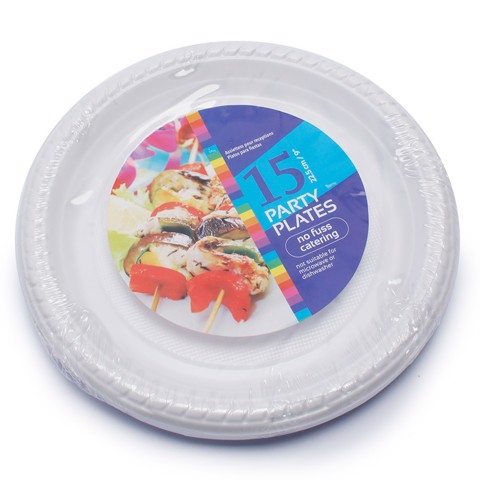 Disposable-Plate-22Cm-15Pk