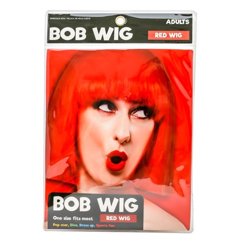 Dress-Up-Bob-Wig-Red