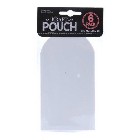 White-Pouch-130X90Mm-6Pk