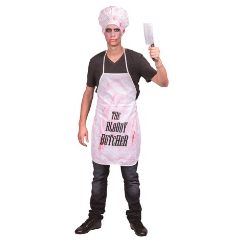 COSTUME ZOMBIE CHIEF COOK MENS