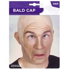BALD HEAD COVER