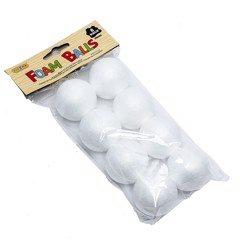 Craft-Foam-Balls-50Mm-8Pk