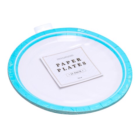 Party-Plates-23Cm-Teal-10Pk