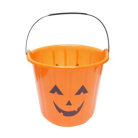 PUMPKIN BUCKET ORANGE