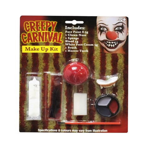 CREEPY CLOWN MAKE UP KIT