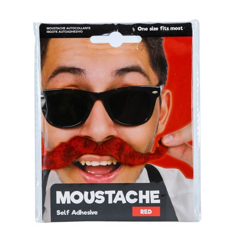 Dress-Up-Moustache-Self-Adh-Red