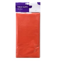 PEVA TABLE CLOTH 136(L) x 265(W)cm - ORANGE