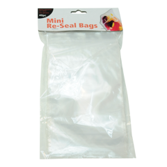 Bags Re Sealable Small & Large