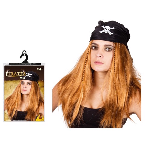 BLOND PIRATE WIG