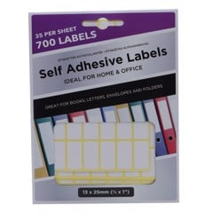 Adhesive-Labels-13X25Mm-700Pk