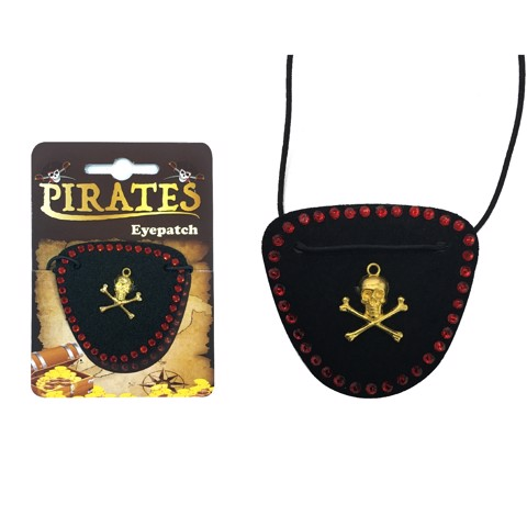 LADY PIRATE EYEPATCH 2 ASSORTED