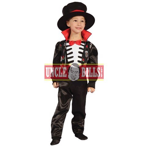COSTUME DELUXE DAY OF THE DEAD TODDLER BOYS