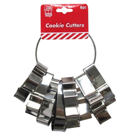 COOKIE CUTTERS 8pc ON RING Uncle Bills XA1470