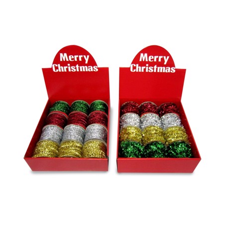 Tinsel Garland Spool 2.7m 2asst Uncle Bills XA3854