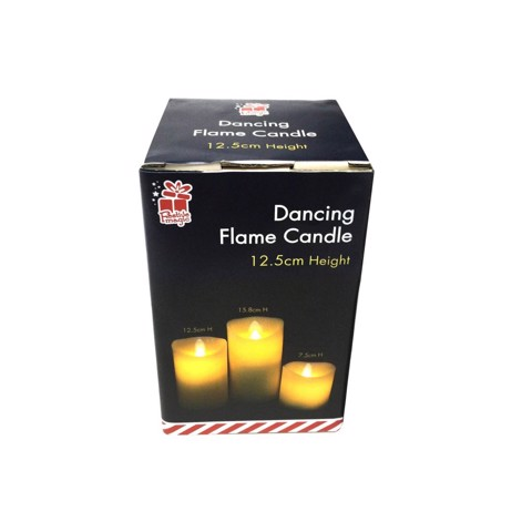 LED Dancing Candle Flameless 12.5cm Uncle Bills XB0077