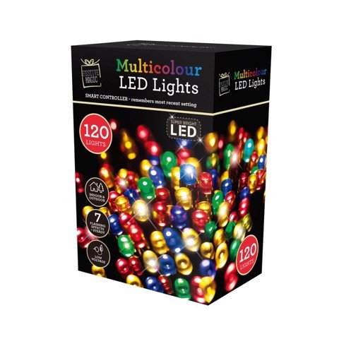 LEDS FLASHING MULTI 120pc Uncle Bills XB3435