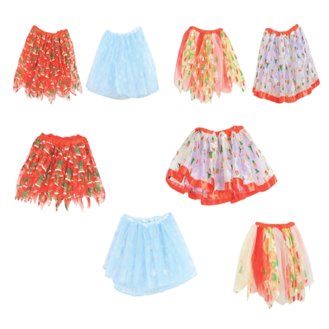 ORGANZA TUTU PRINTED 4 ASST 2 SIZES Uncle Bills XB4372