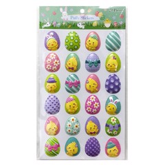 PUFFY STICKERS 24PC