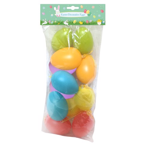 COLOURFUL EGGS DECO 10PK