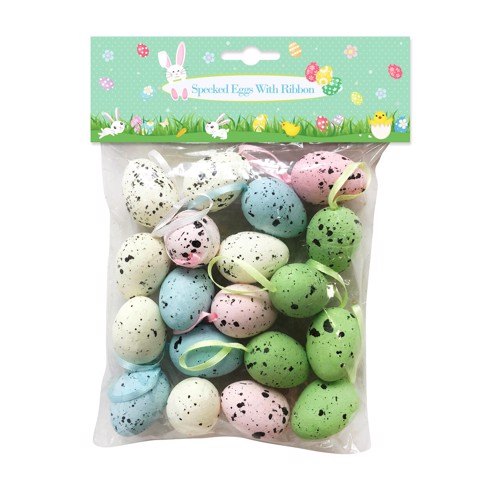 SPECKLED EGGS DECO 18PK