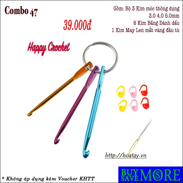 Combo 47 - Happy Crochet