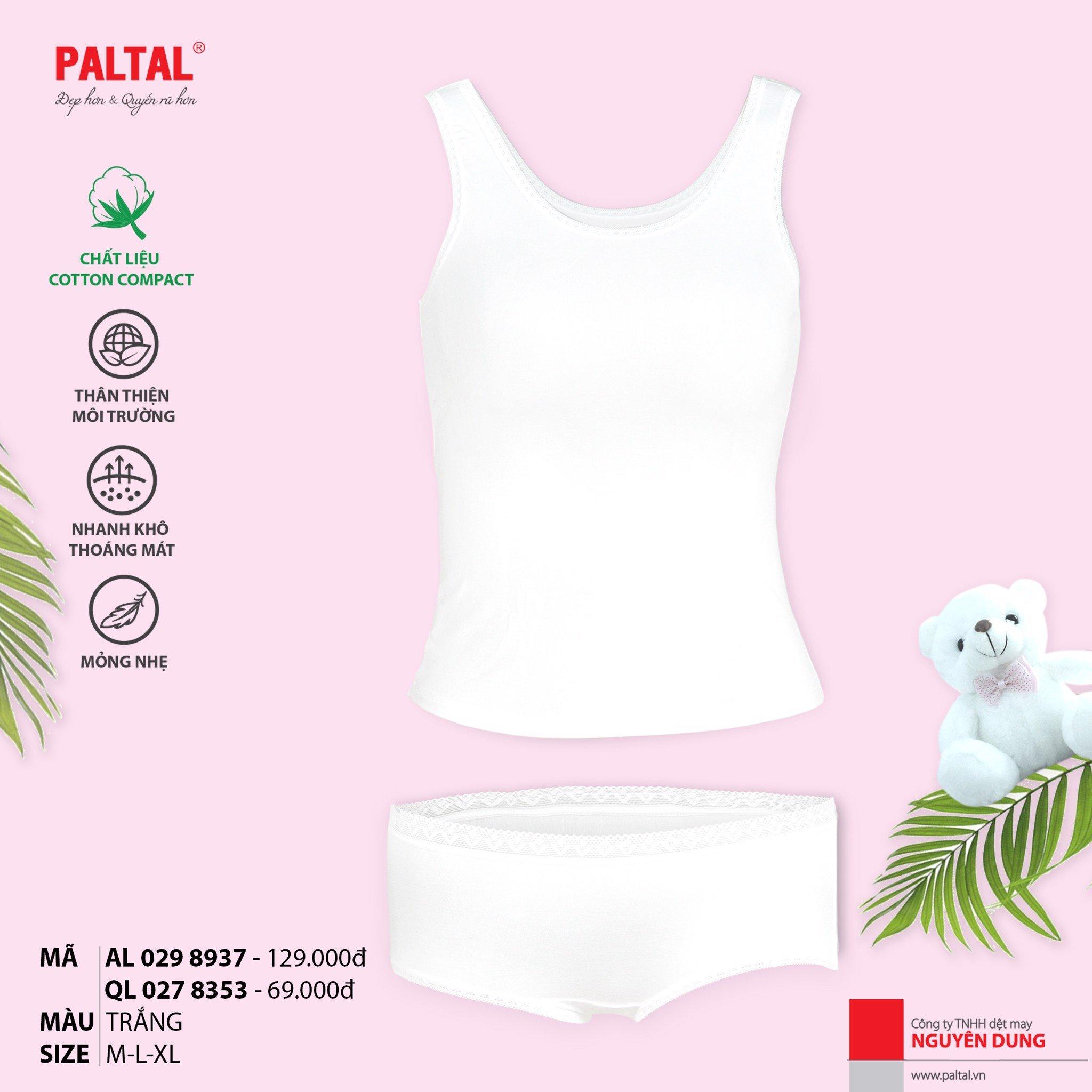 Combo áo lá nữ sinh cấp 3 + quần lót modal cao cấp 029p 8937 & 027p 8353