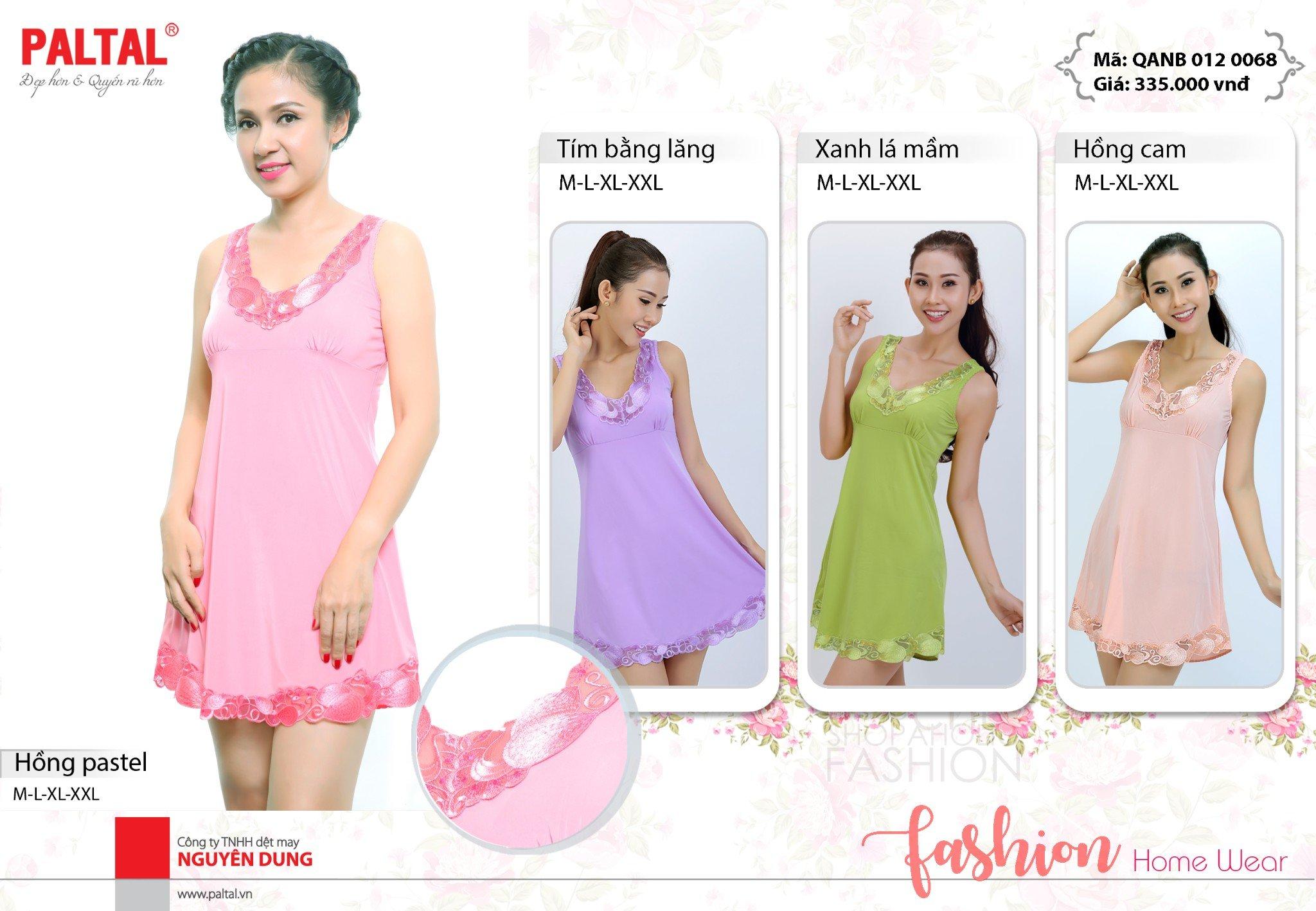 Áo ngủ Váy ngủ cao cấp PALTAL QANB 012P 0068