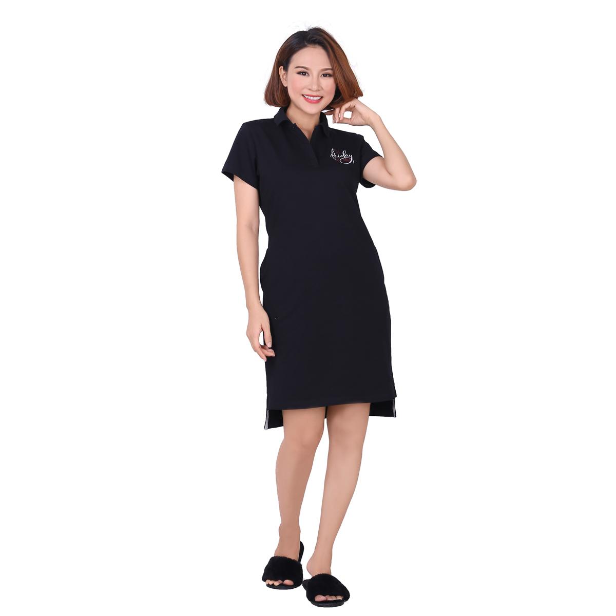 Váy đầm áo đầm tay ngắn cotton 14cp 3849