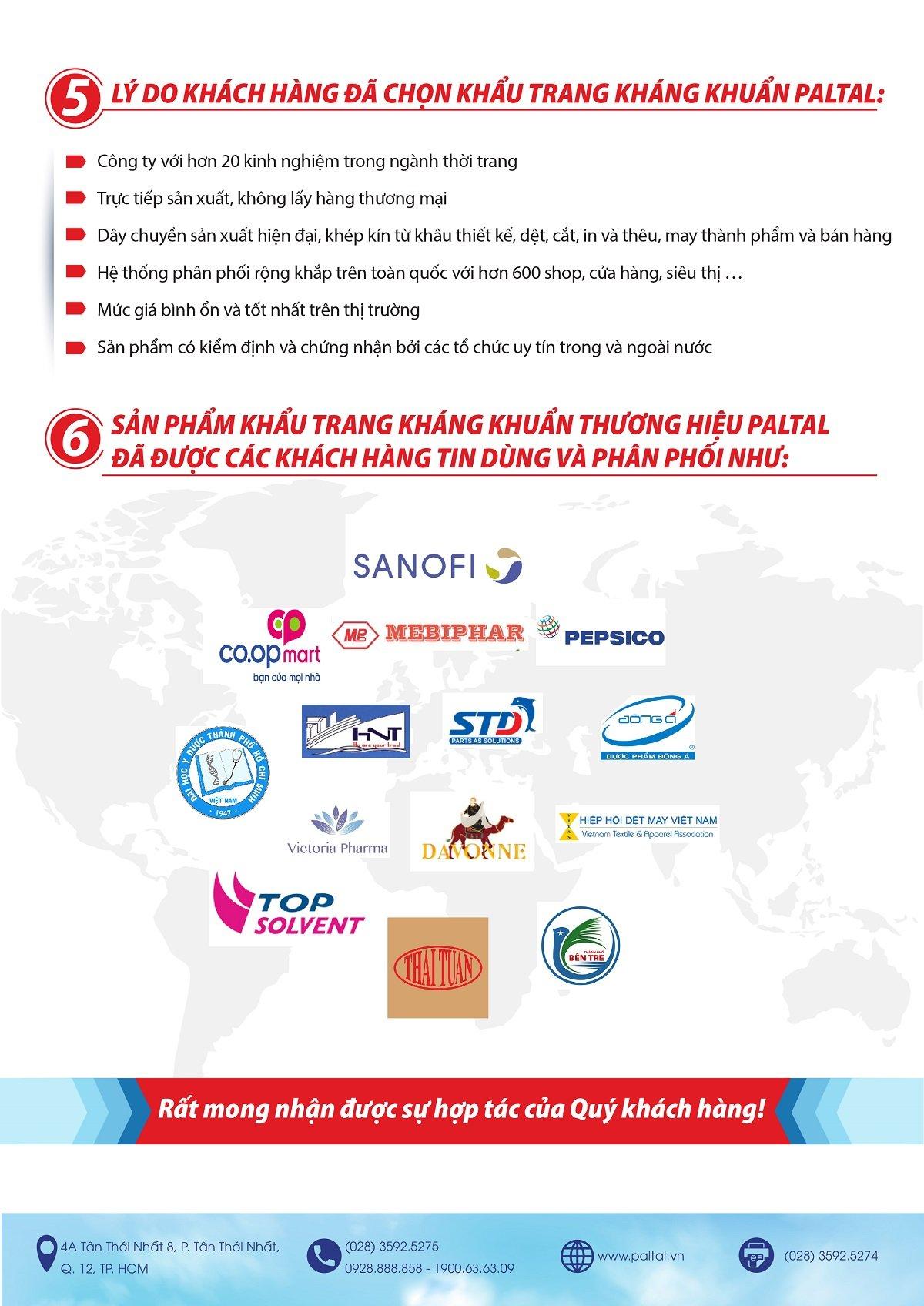 Công ty sản xuất khẩu trang vải kháng khuẩn, chống nước, chống tia tử ngoại uv, tái sử dụng chất lượng tại Việt Nam
