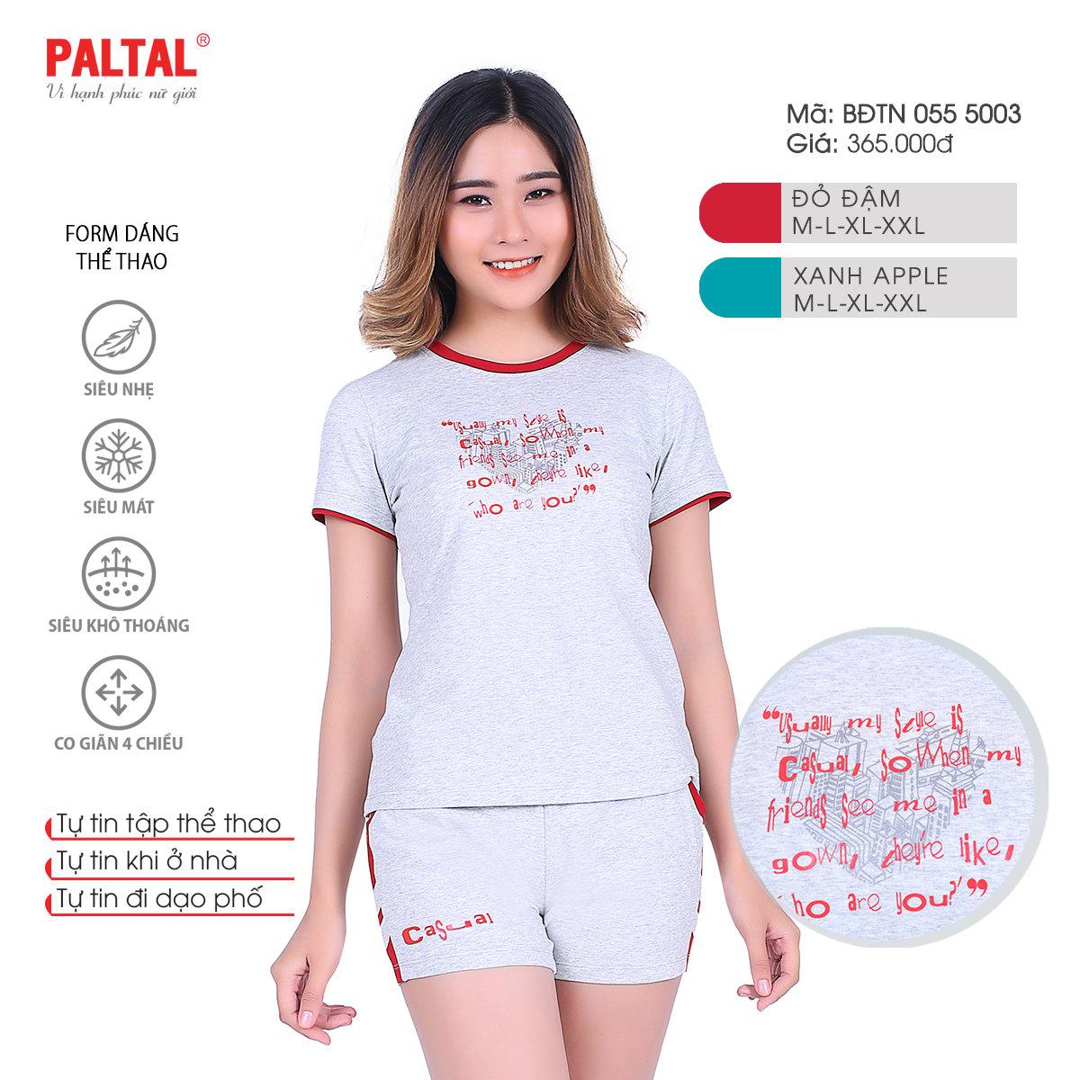 Bộ đùi tay ngắn cao cấp PALTAL bddtn 055p 5003