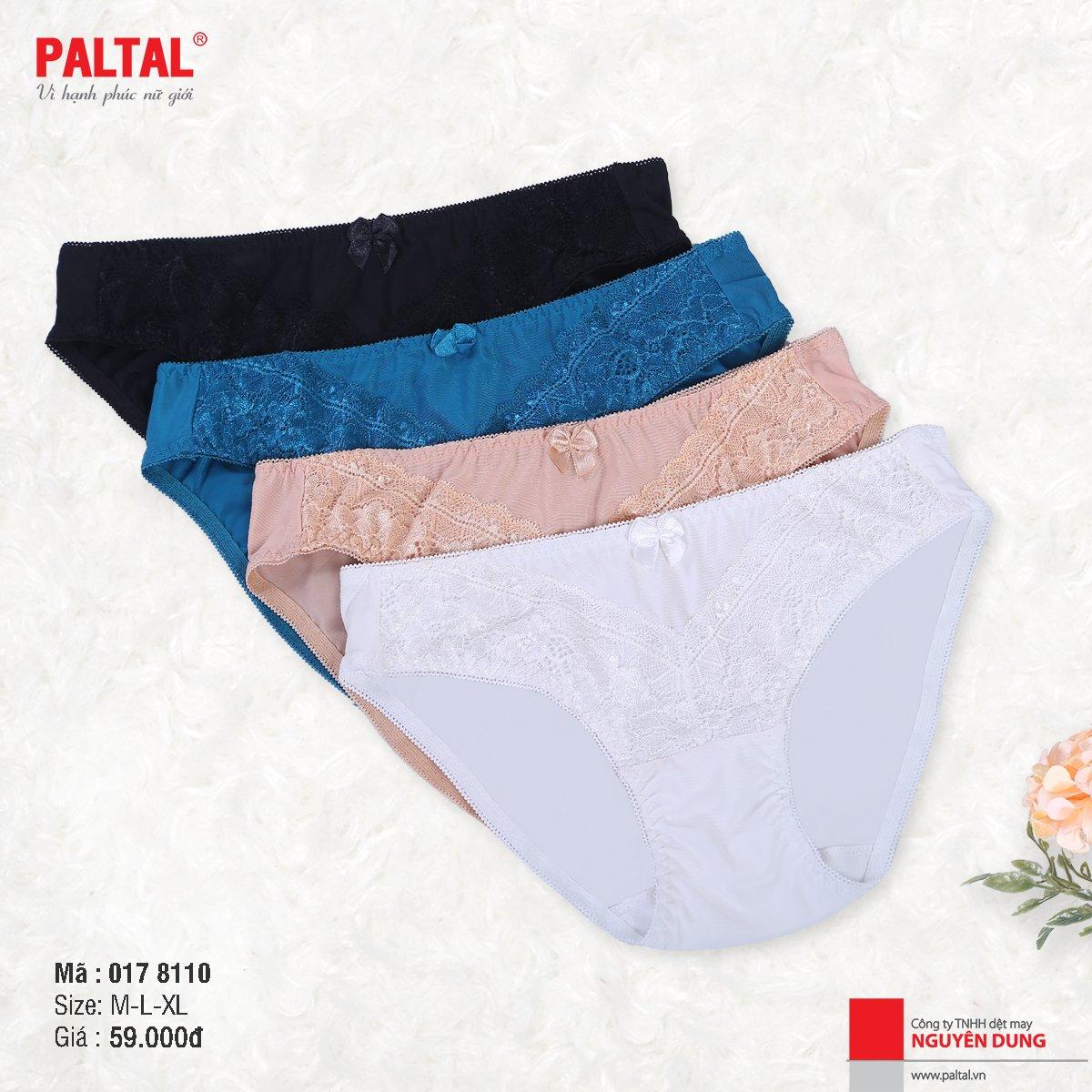 QUẦN LÓT CAO CẤP PALTAL QL 017P 8110