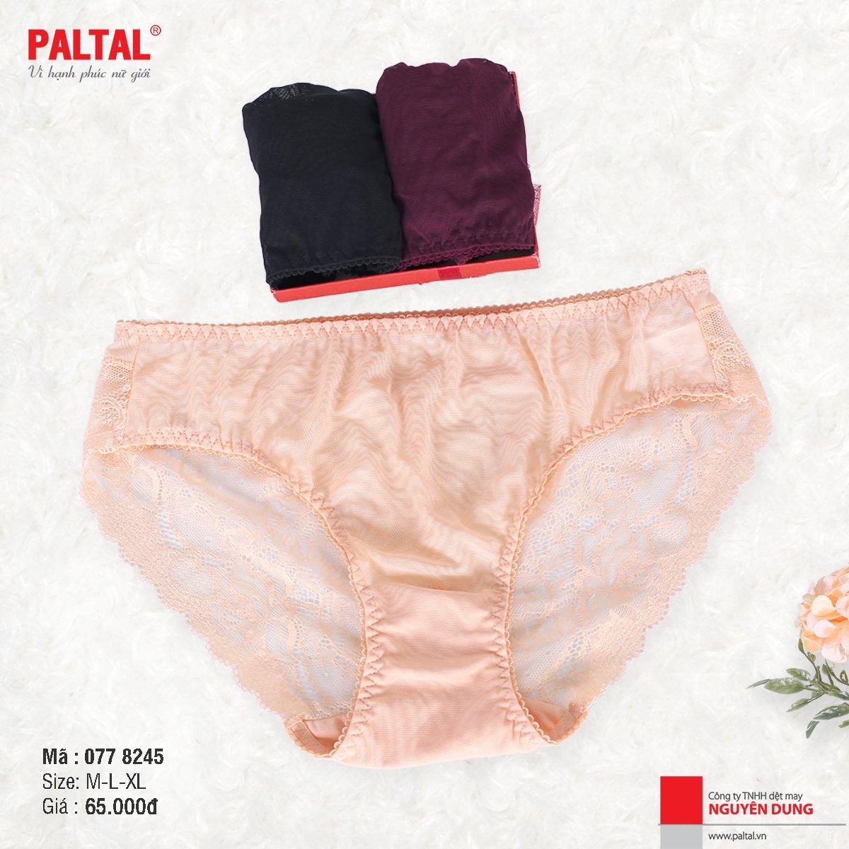 quần lót nữ lưng cao cao cấp paltal 077P 8245